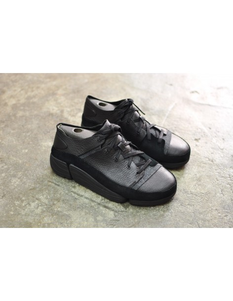 Clarks Originals Trigenic Evo, Black Leather