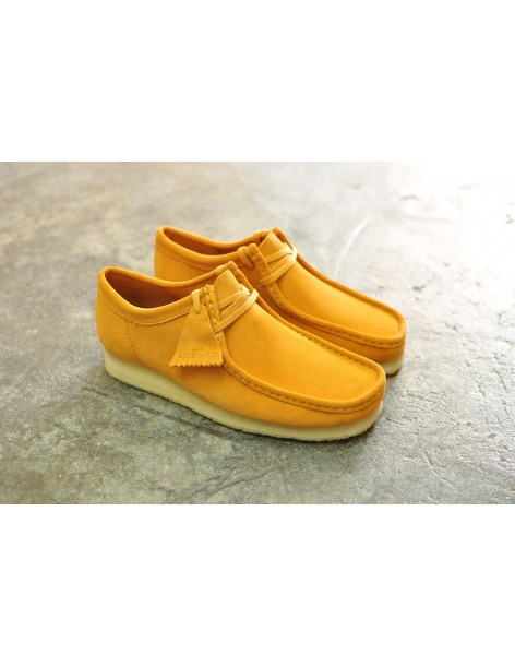 Clarks Originals Wallabee, Tumeric Suede