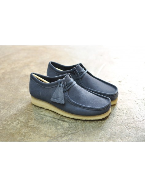 Clarks Originals Wallabee, Deep Blue