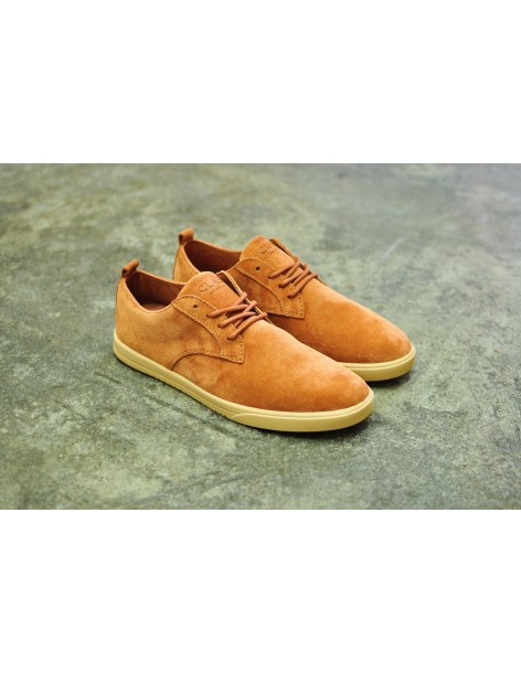 Clae Ellington Suede, Blowfish Brown Suede