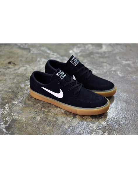 Nike SB Stefan Janoski RM, Black/White-Black-Gum Light Brown