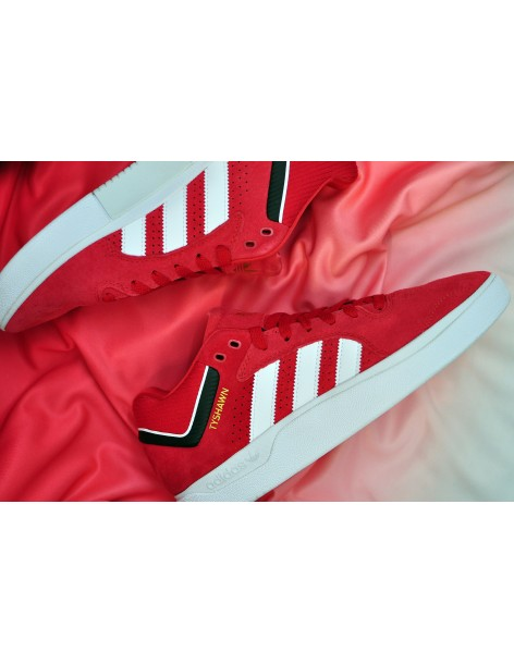 Adidas Tyshawn, Scarlet/Ftwwht/Cblack