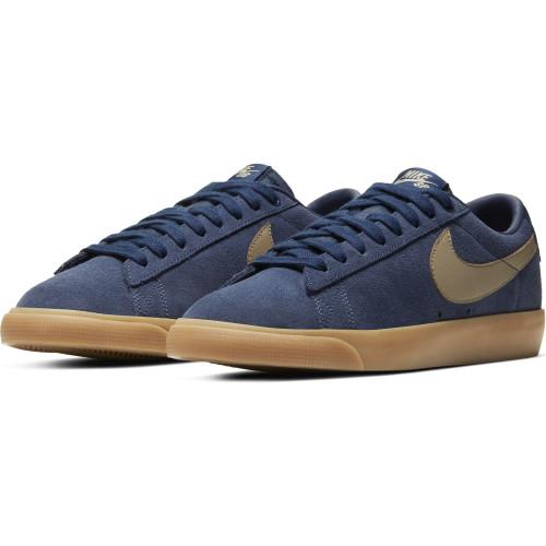 Nike SB Zoom Blazer Low GT, Midnight...