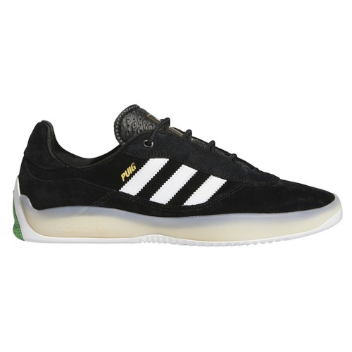 Adidas Puig, Cblack/Ftwwht/Vivgrn